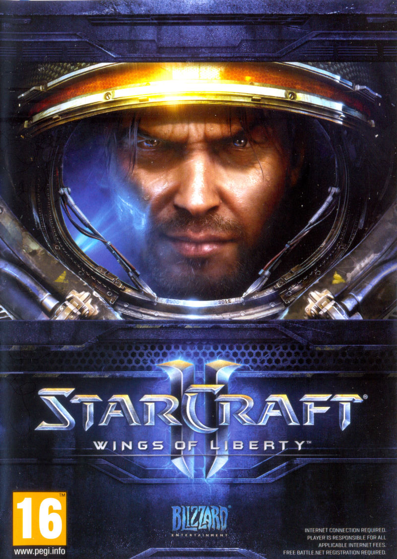 StarCraft II: Wings of Liberty Macintosh Other Keep Case - Front
