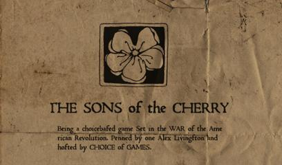 The Sons of the Cherry Browser Front Cover