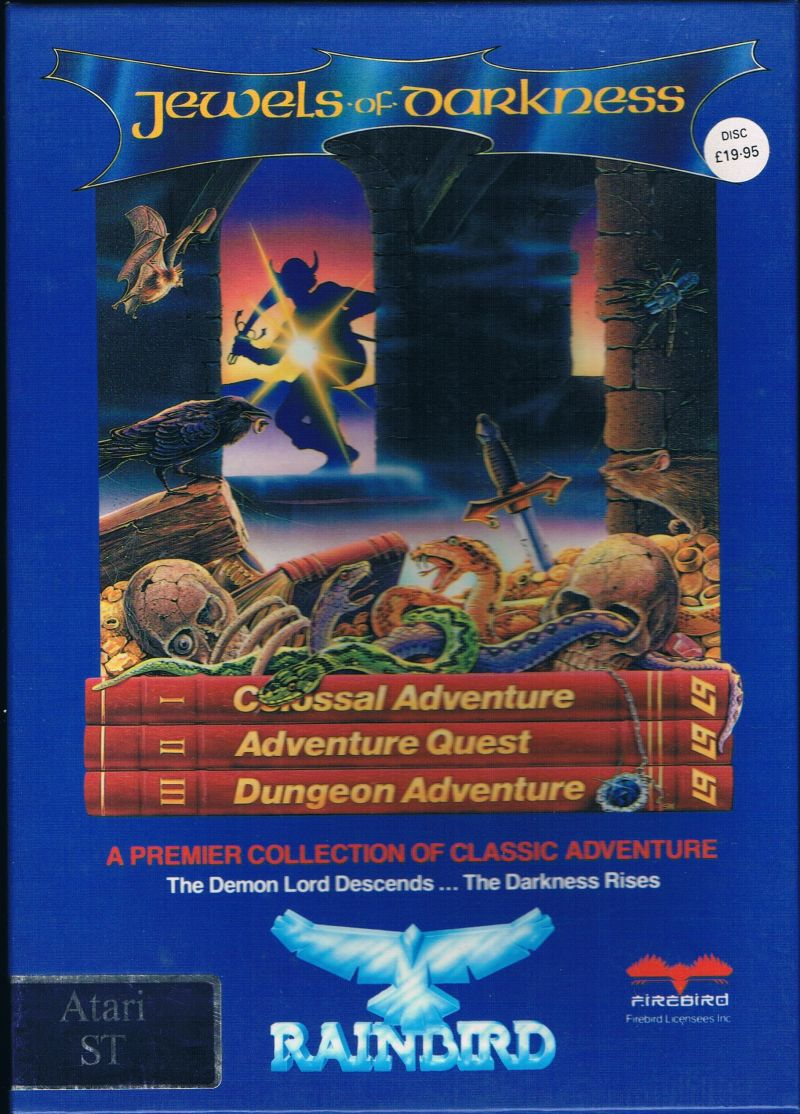 Jewels of Darkness for Atari ST (1986) - MobyGames