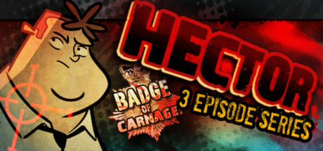 Hector: Badge of Carnage! Macintosh Front Cover