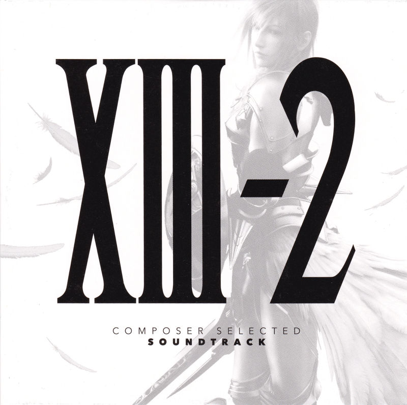 Final Fantasy XIII-2 (Limited Collector's Edition) Xbox 360 Soundtrack Sleeve - Front