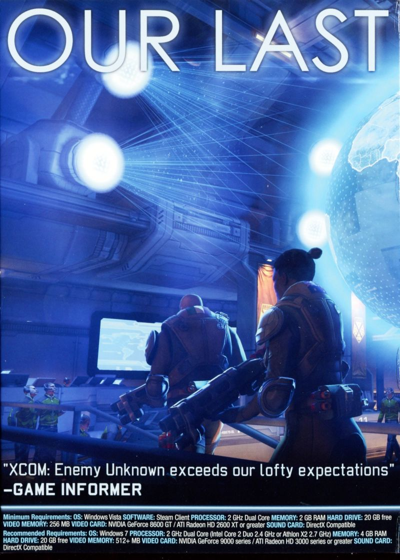 XCOM: Enemy Unknown (Special Edition) Windows Inside Cover Left