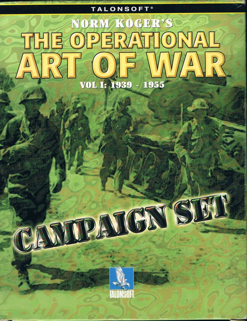 The Operational Art of War Vol 1: 1939-1955 - Elite★Edition Windows Front Cover