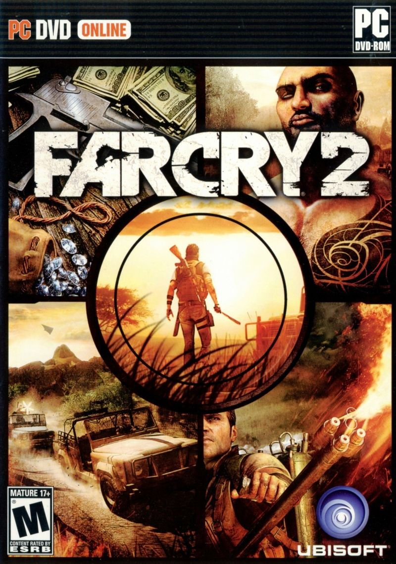 Far Cry 2 Windows Other Keep Case - Front