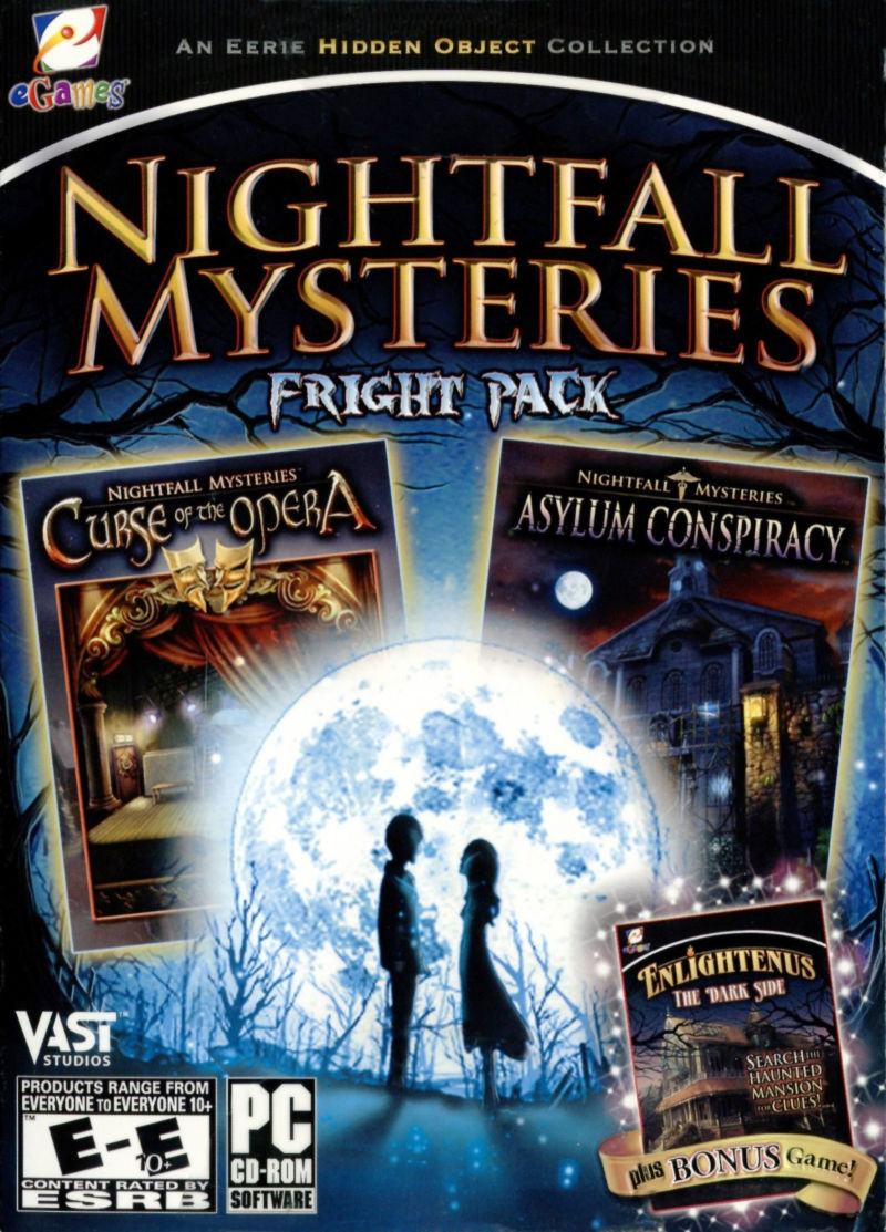 Nightfall Mysteries: Fright Pack Windows Front Cover