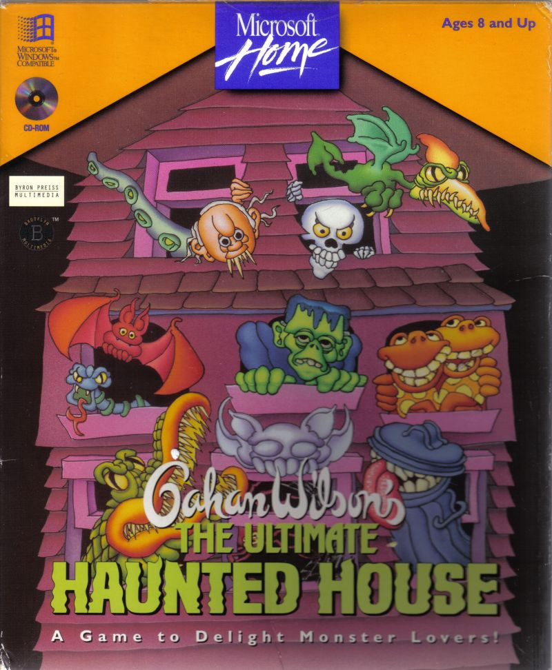 Haunted House Browser Game: Gahan Wilson's The Ultimate Haunted House For Windows 3.x