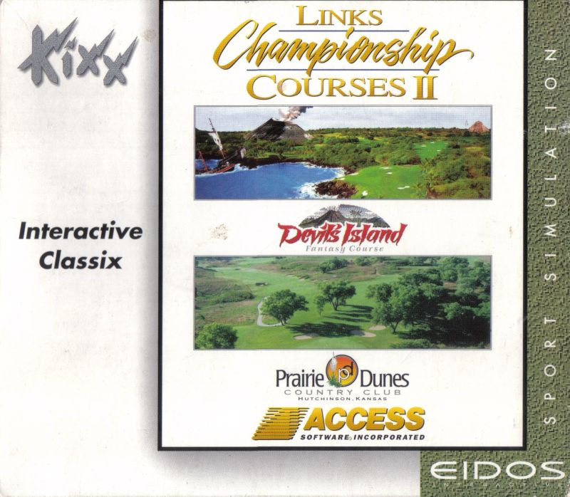 Links Championship Courses II DOS Front Cover
