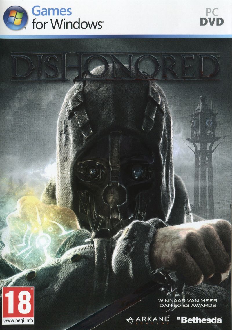 Dishonored Windows Front Cover