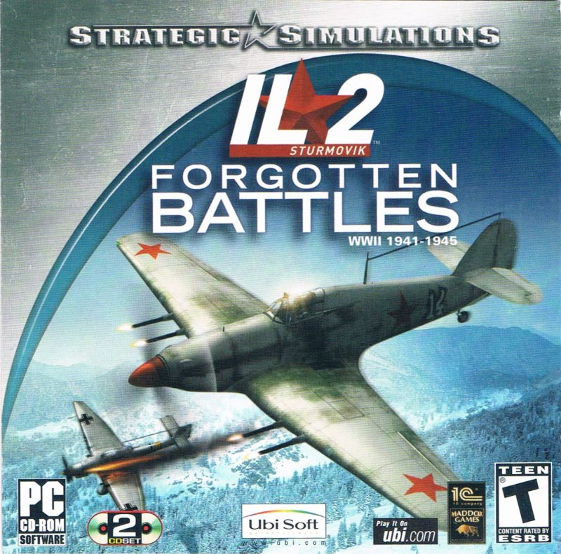 IL-2 Sturmovik: Forgotten Battles Windows Other Jewel Case - Front