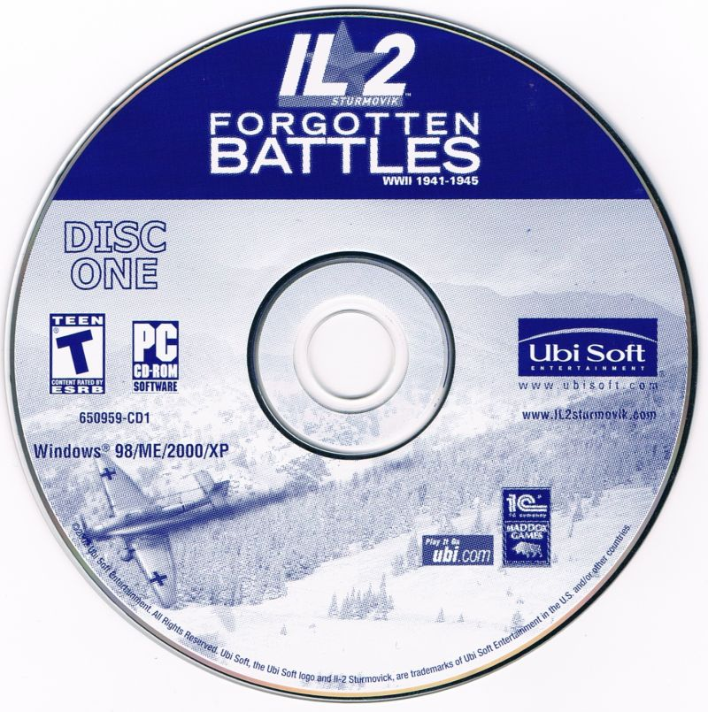 IL-2 Sturmovik: Forgotten Battles Windows Media Disc 1