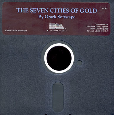 The Seven Cities of Gold Commodore 64 Media
