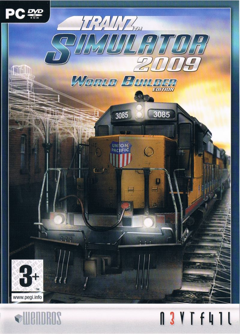 Image result for trainz 2009 front cover