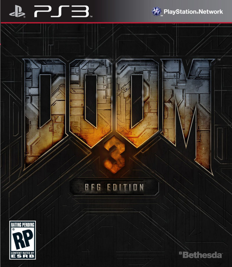 DOOM³: BFG Edition PlayStation 3 Front Cover