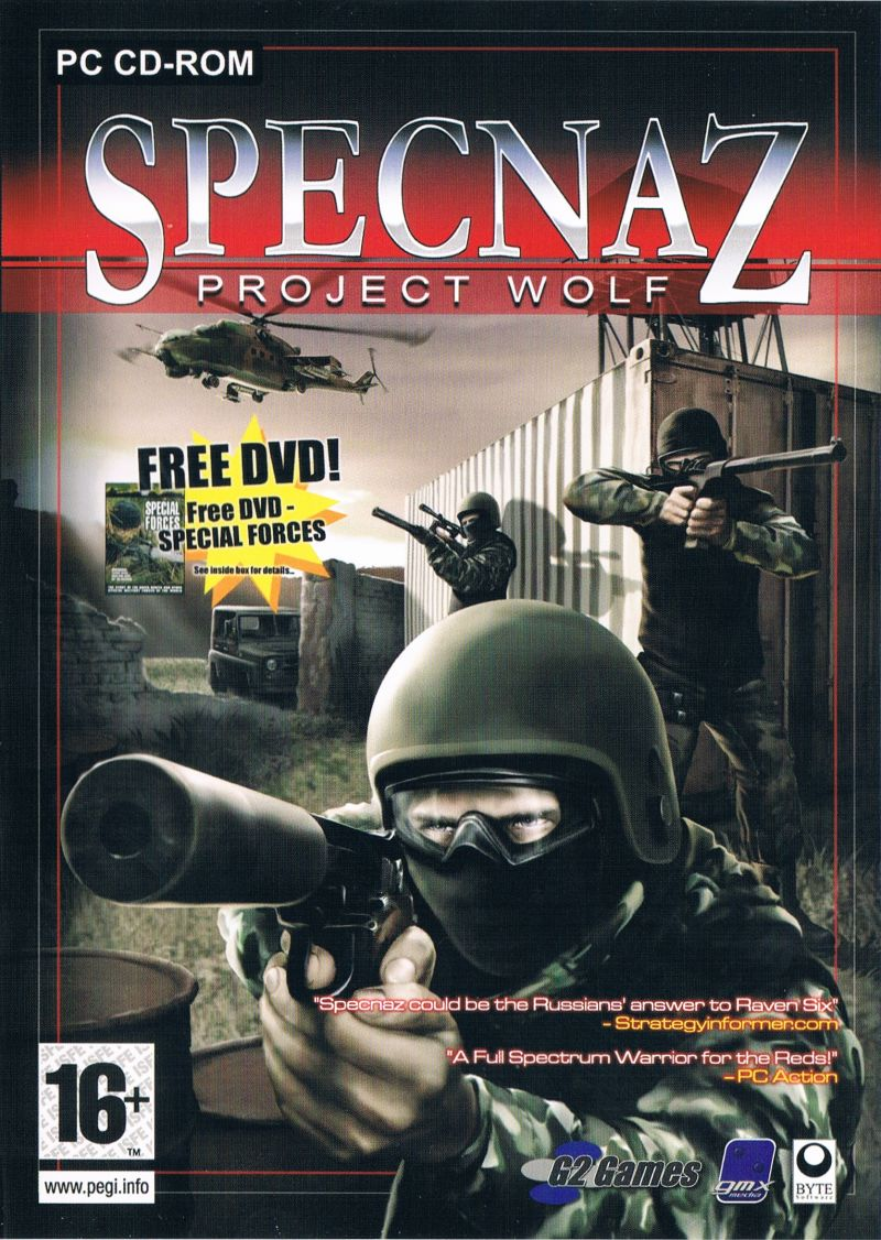 Specnaz: Project Wolf Windows Front Cover