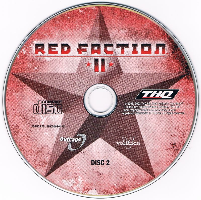 Red Faction II Windows Media Disc 2/2