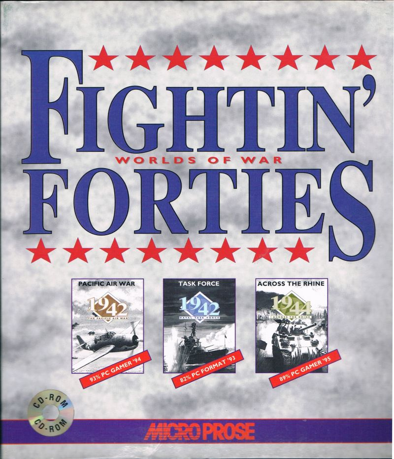 Fightin' Forties: Worlds of War DOS Front Cover