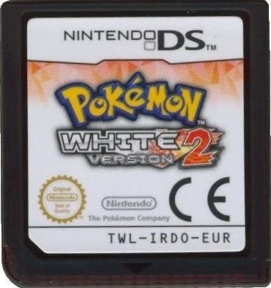 Pokémon White Version 2 Nintendo DS Media