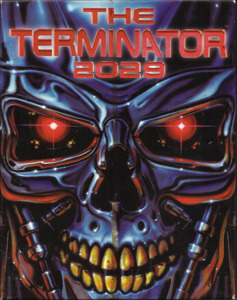 The Terminator 2029 DOS Front Cover