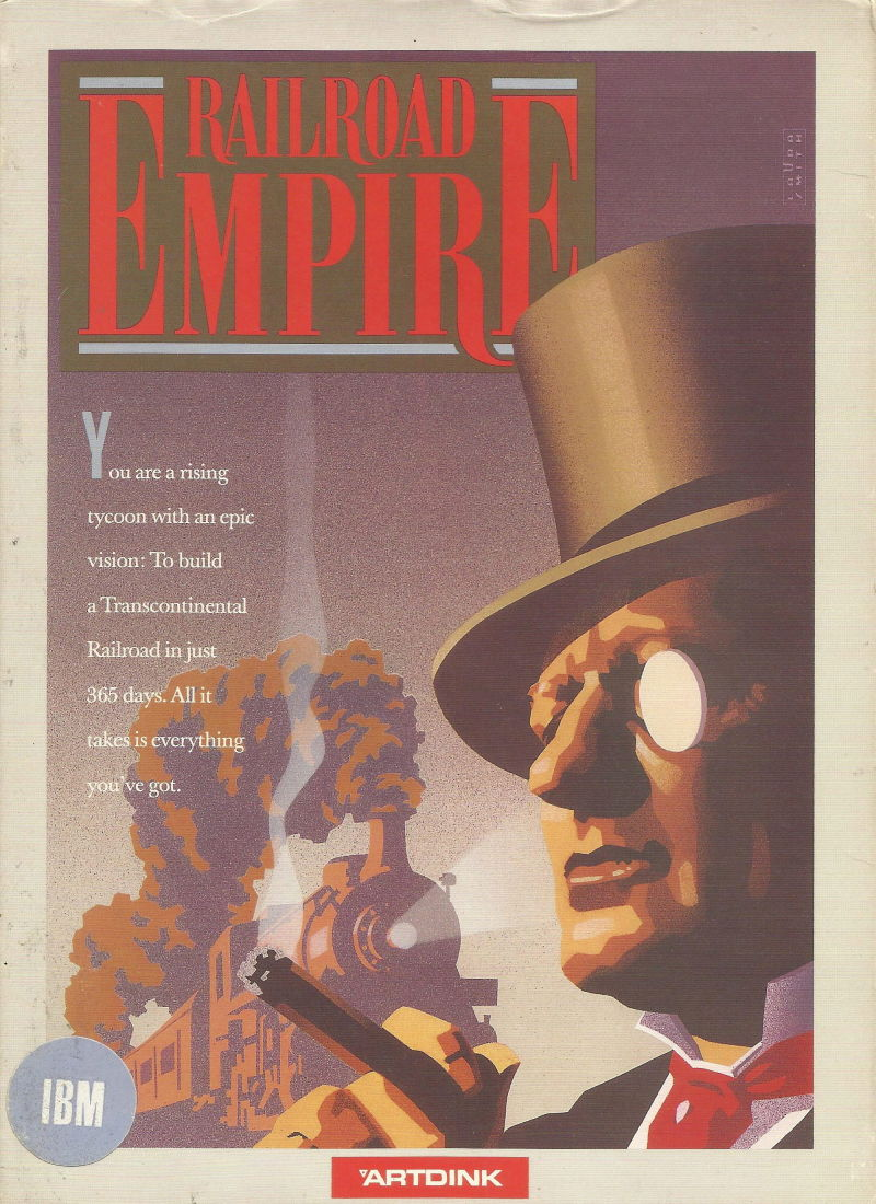 Railroad Empire DOS Front Cover
