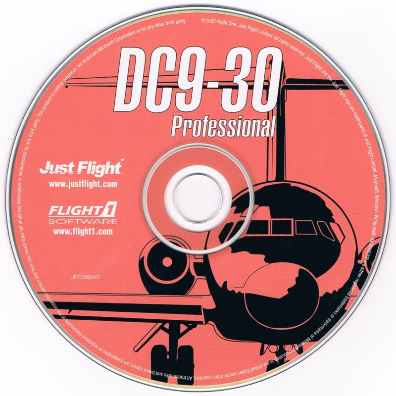 DC9-30 Professional Windows Media orange - not pink