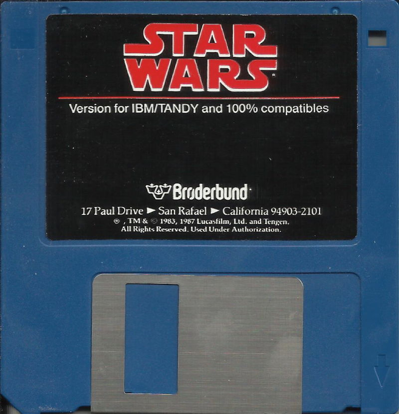 Star Wars DOS Media