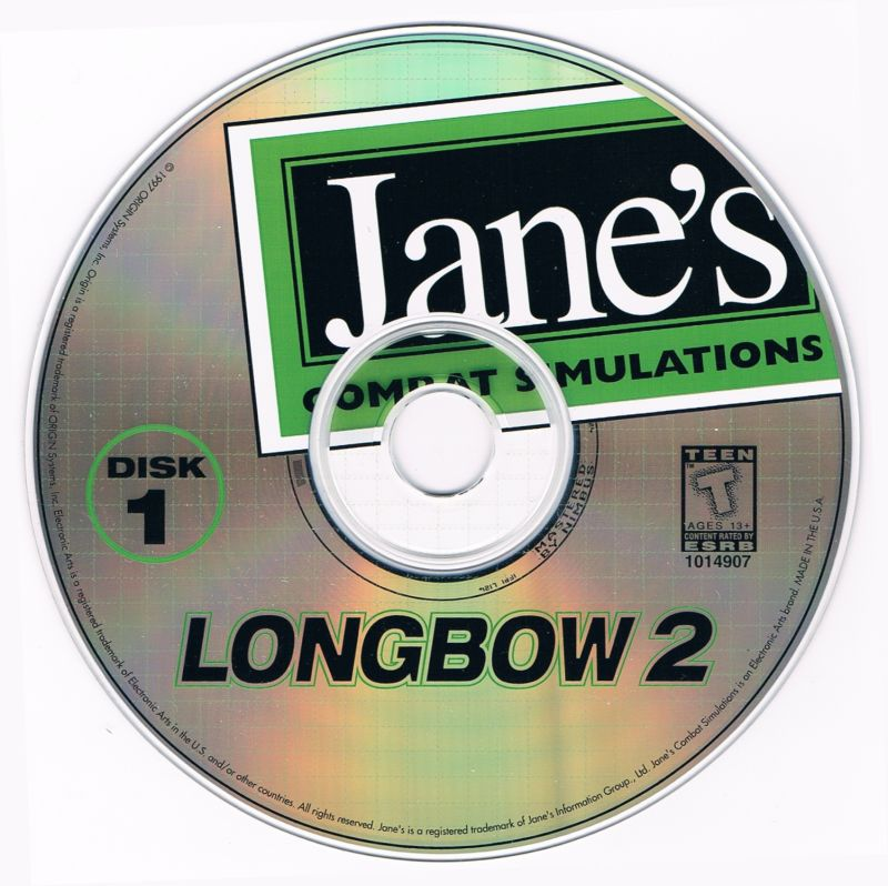 Jane's Combat Simulations: Longbow 2 Windows Media Disc 1