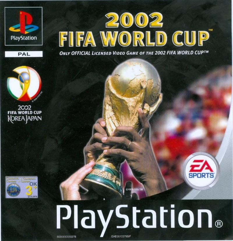 2002 FIFA World Cup PlayStation Front Cover