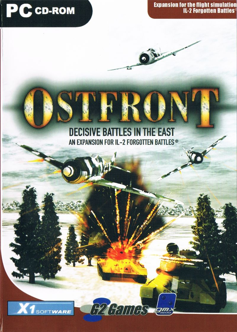 Ostfront: Decisive Battles in the East Windows Front Cover