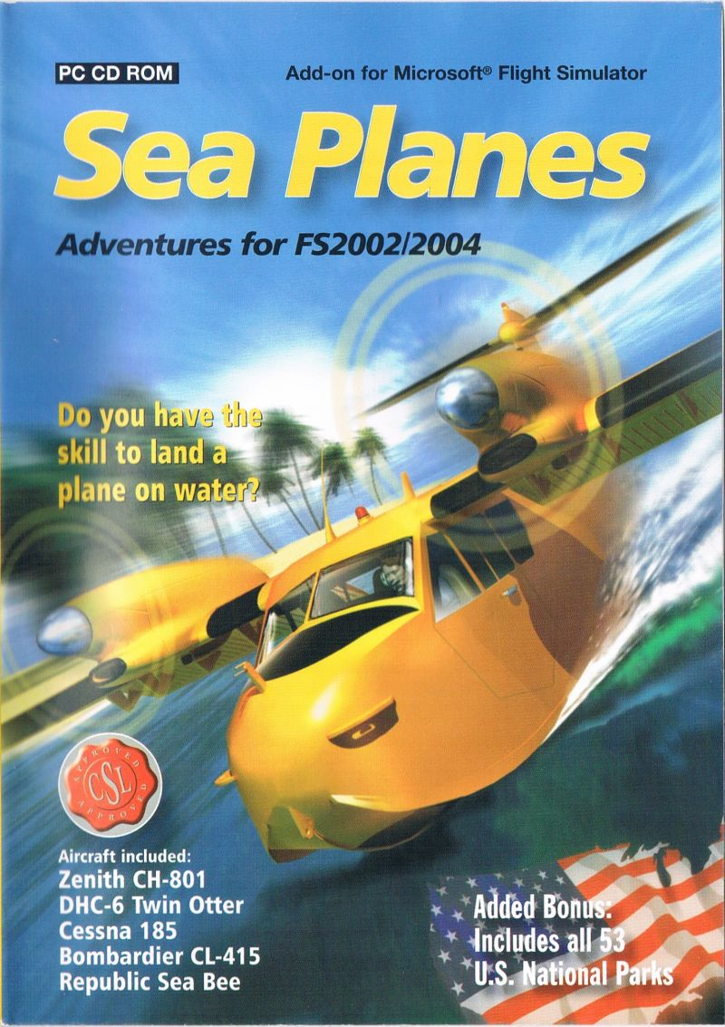 Sea Planes: Adventures for FS2002/2004 Windows Front Cover