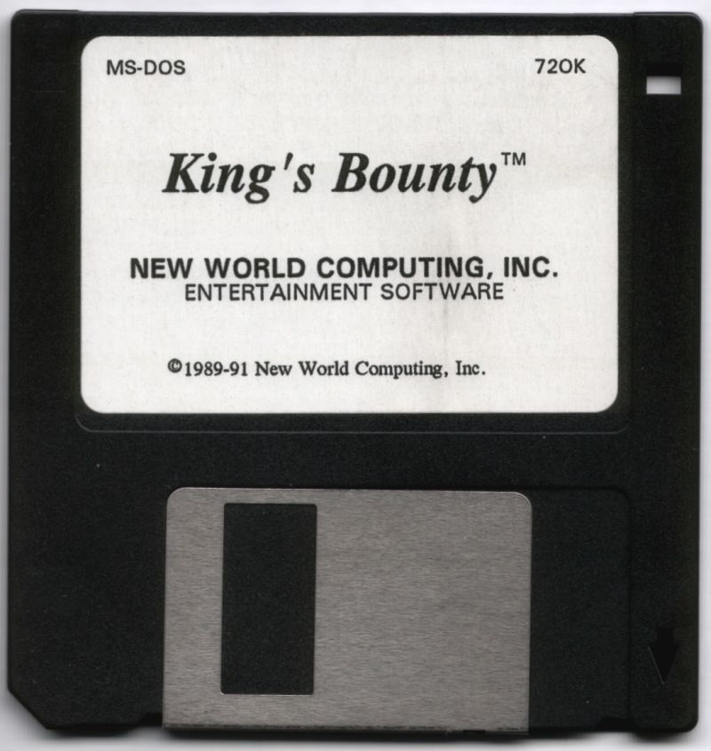 King's Bounty DOS Media