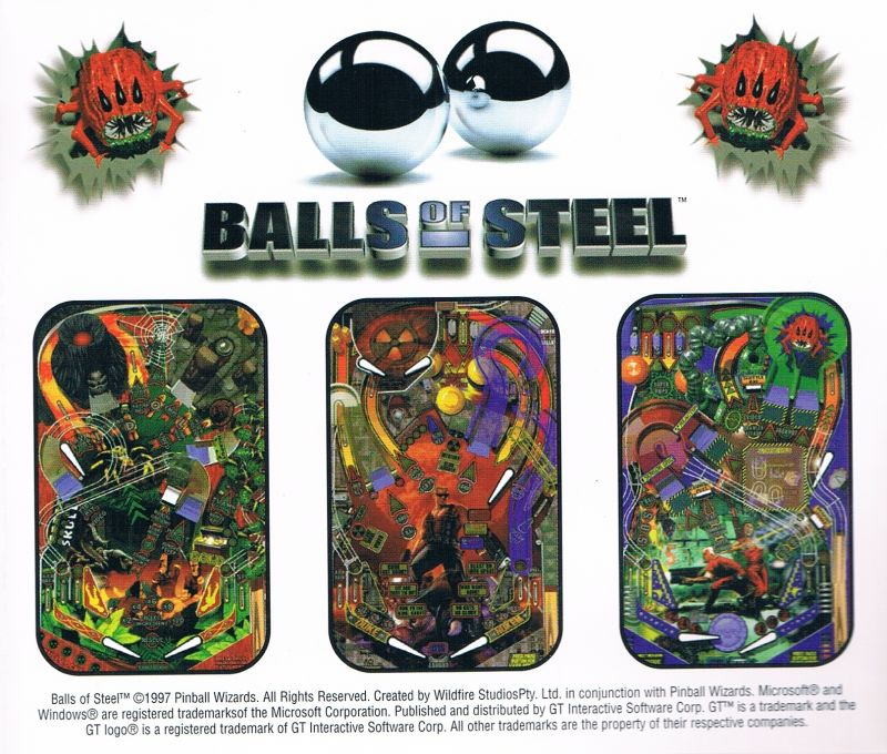 Balls of Steel Windows Other Jewel Case - Back