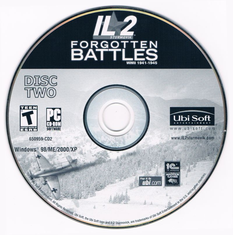 IL-2 Sturmovik: Forgotten Battles Windows Media Disc 2