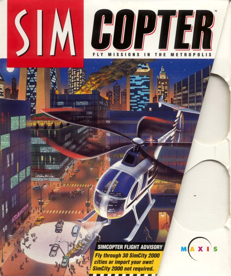 SimCopter Windows Front Cover