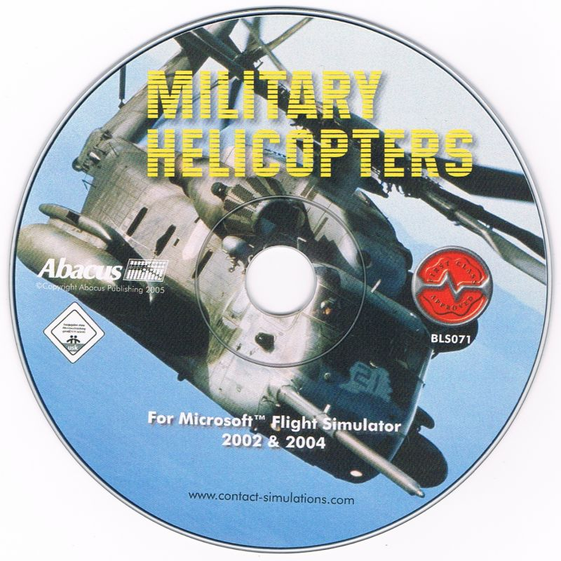Military Helicopters Windows Media CD 1/1