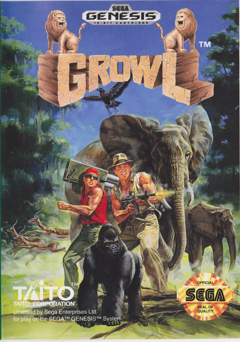 Growl Genesis Front Cover