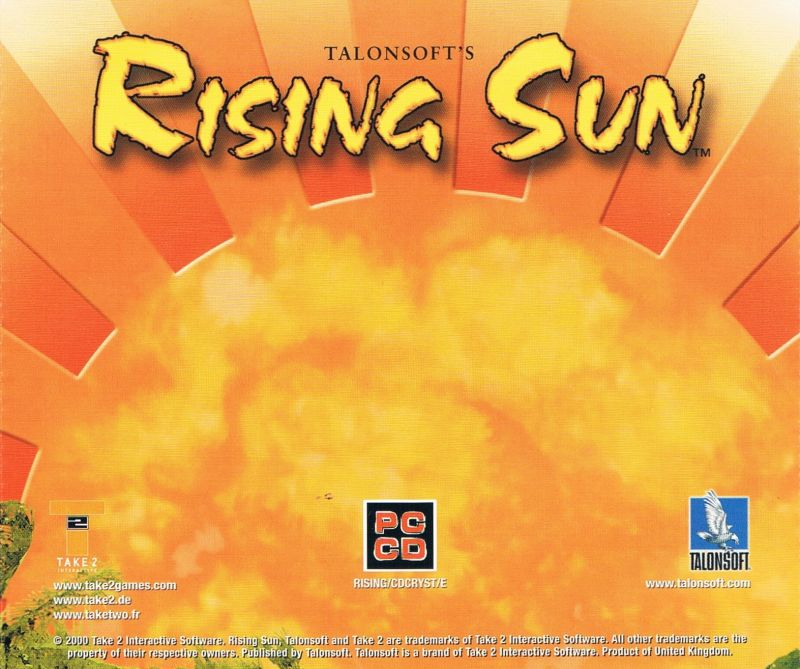 Rising Sun Windows Other Jewel Case - Back