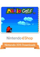 Mario Golf  Nintendo 3DS Front Cover
