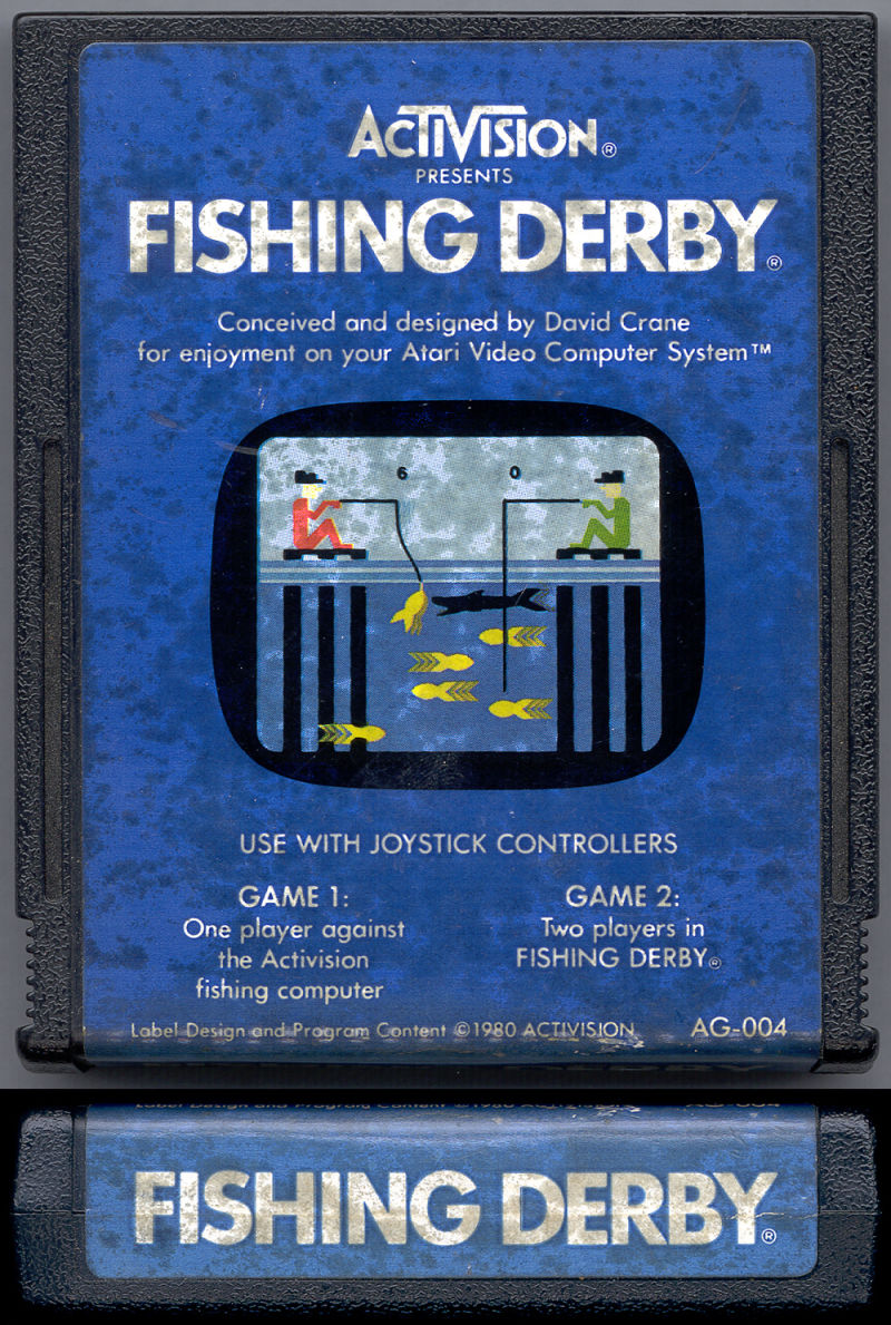 Fishing Derby Atari 2600 Media