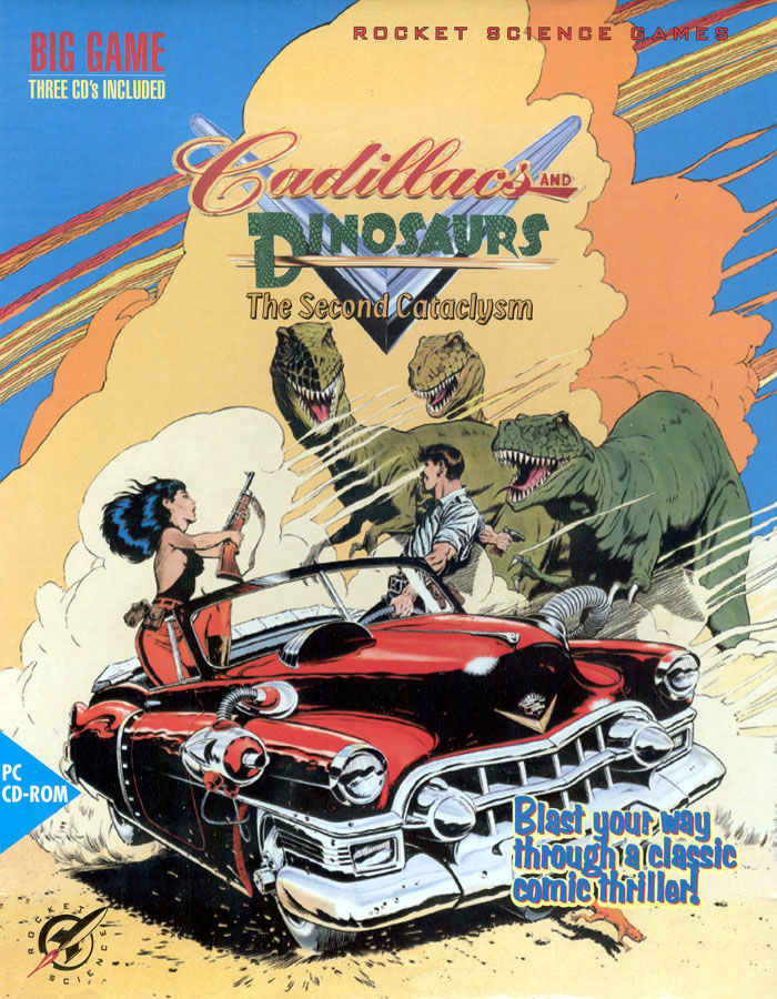 обложка 90x90 Cadillacs and Dinosaurs: The Second Cataclysm