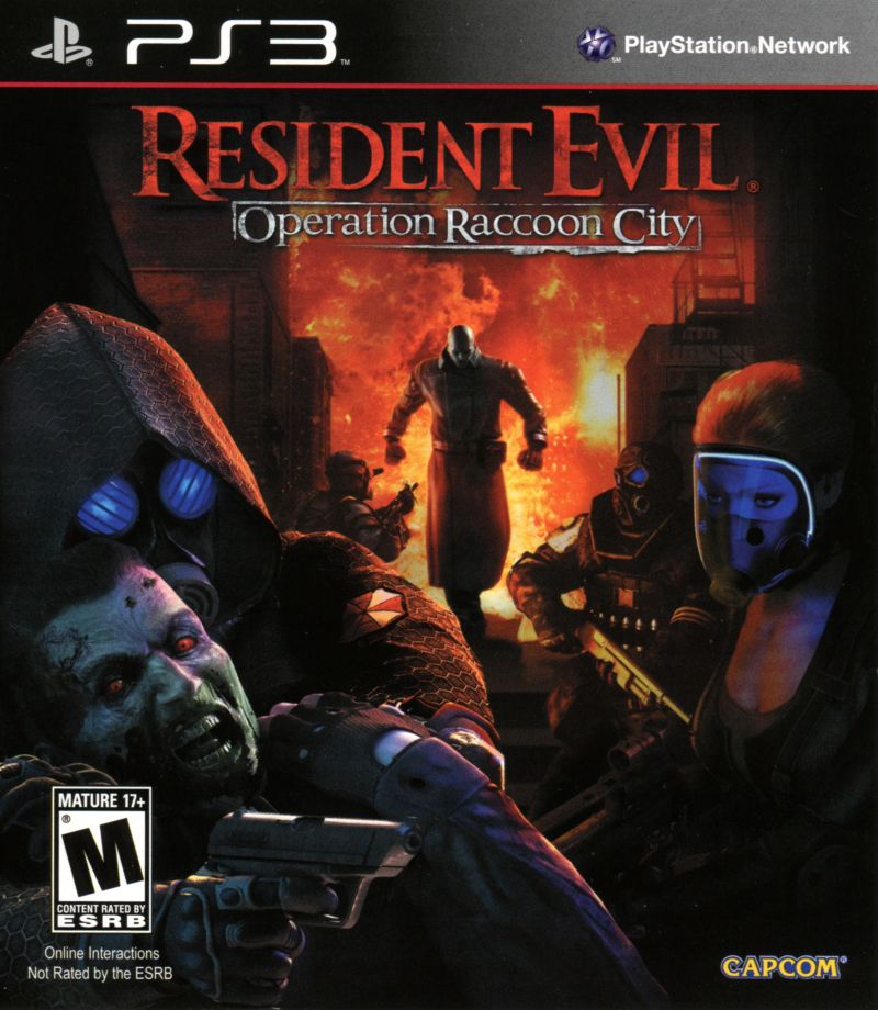 Resident Evil: Operation Raccoon City PlayStation 3 Front Cover