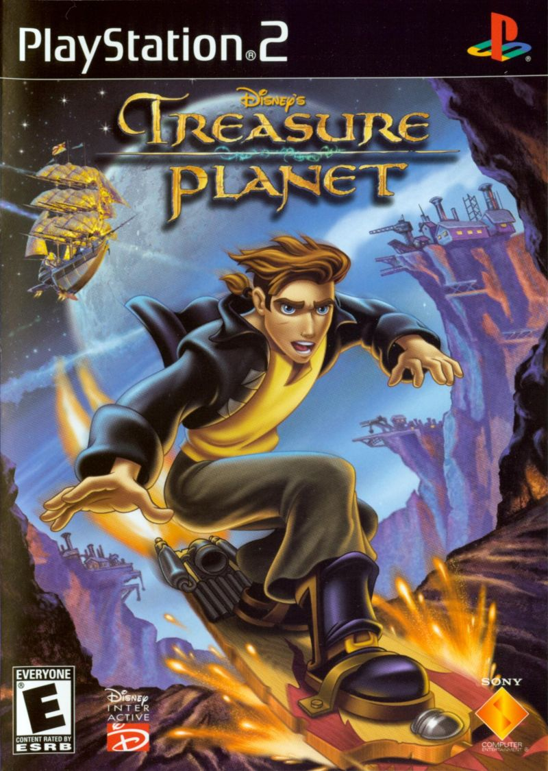 Disney's Treasure Planet PlayStation 2 Front Cover