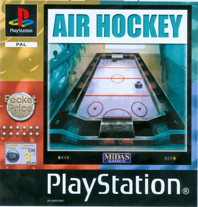 Air Hockey PlayStation Front Cover