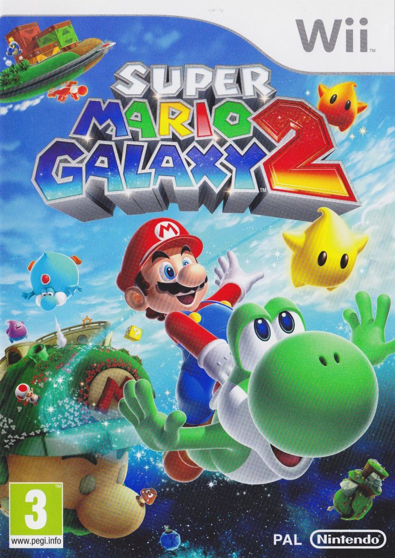 Super Mario Galaxy 2 Wii Other Keep Case - Front
