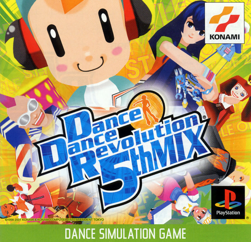 Dance Dance Revolution: 5th Mix PlayStation Front Cover