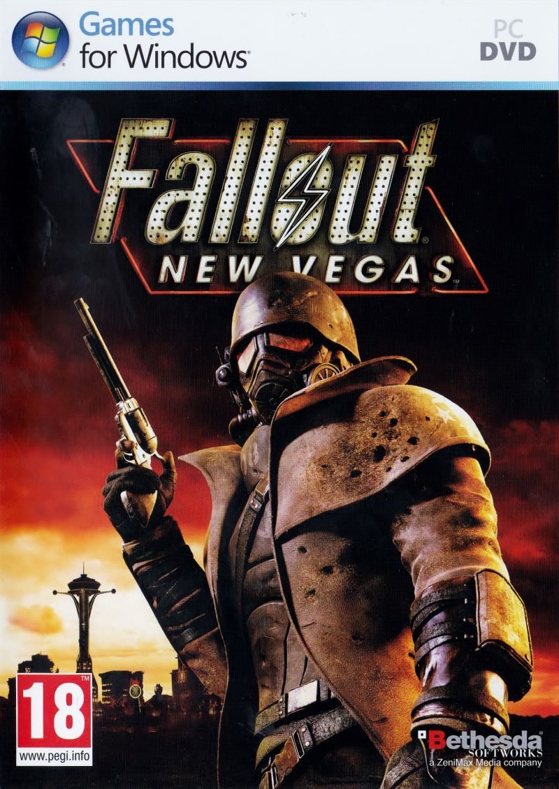 Fallout: New Vegas Windows Front Cover