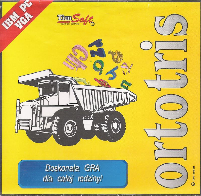 Ortotris DOS Front Cover
