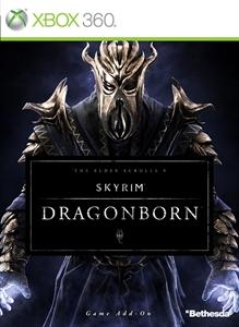 The Elder Scrolls V: Skyrim - Dragonborn Xbox 360 Front Cover