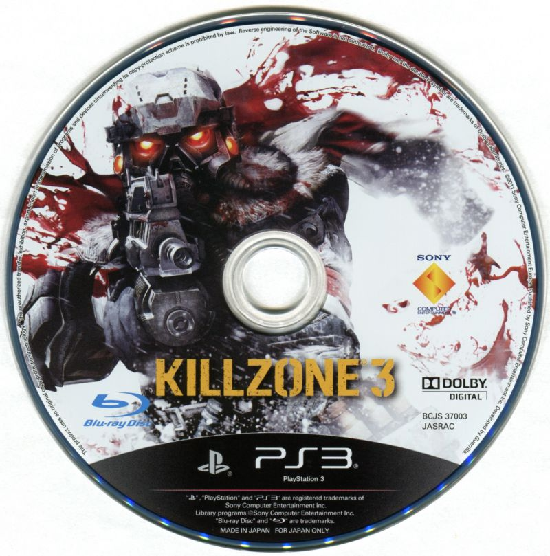 Killzone 3 PlayStation 3 Media