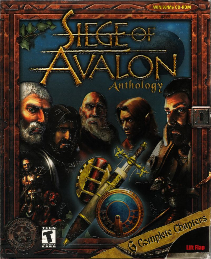 Siege of Avalon Windows Front Cover