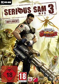 Serious Sam 3: BFE Windows Front Cover